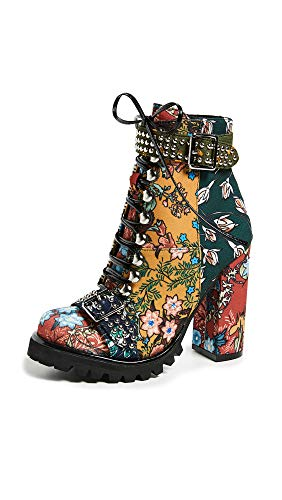 Jeffrey Campbell Women's Lilith 2 Boots, New Floral, 6.5 M US ()