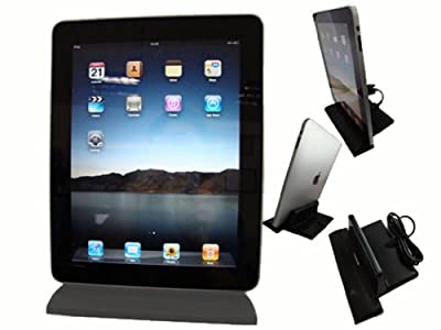 GSI Super Quality Desktop Dock/Charger/Data-Sync for Apple IPAD, iPad 2, Wifi/3G Tablet Reader - Black by GSI