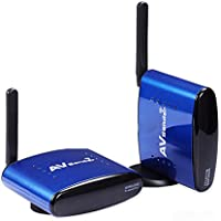 TOOGOO(R) NEW 5.8 GHz 200M Wireless WIFI TV AV Transmitter Receiver Sender Audio Video