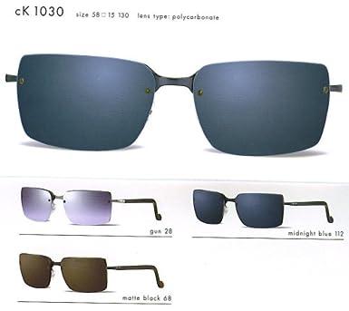 Amazon.com: Calvin Klein CK anteojos de sol 1030 (color-code ...