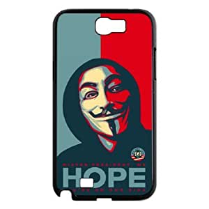 J-LV-F V for Vendetta Phone Case For Samsung Galaxy Note 2 N7100 [Pattern-2]