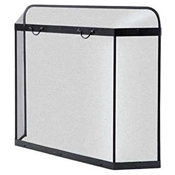 Amazon.com : PANACEA PRODUCTS Black Fireplace Spark Guard : Garden & Outdoor