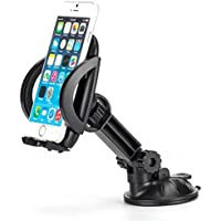 Kyocera DuraForce XD Compatible Premium Car Mount Dash Windshield Cradle Holder Window Rotating Dock Strong Suction