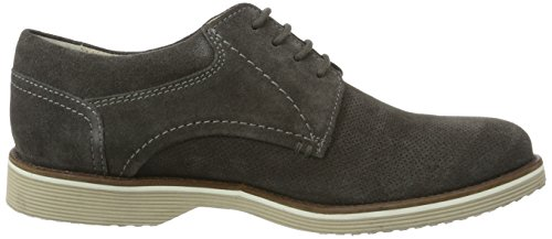 Sioux Dimitar-Xl, Zapatos De Cordones Derby para Hombre Gris (Asphalt)