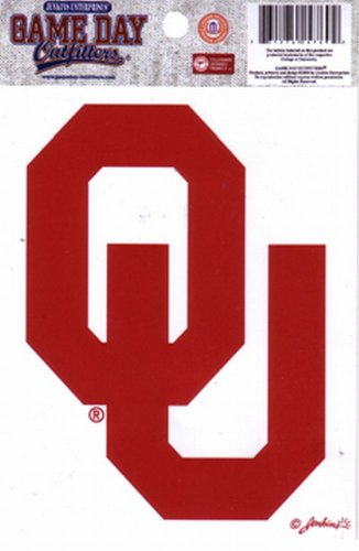 Oklahoma Window - NCAA Oklahoma Sooners Small Window Decal/Stickers