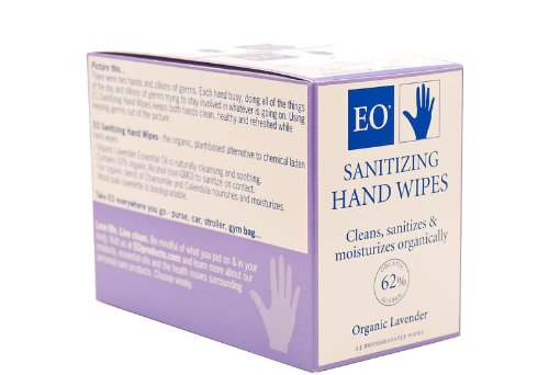 EO PRODUCTS DSP,HAND SANITZ WIPES,LAV, CT - Lav Case