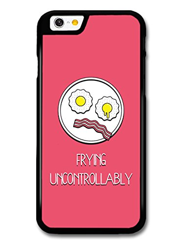Funny Frying Uncontrollably Breakfast with Eggs and Bacon Face case for iPhone 6 6S