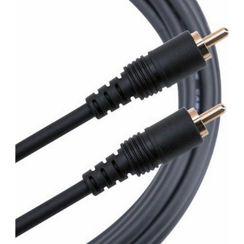 Mogami PURE PATCH RR-10 | Molded Assembly GOLD RCA Plug Cable 10 ft by Mogami