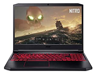 "Acer Nitro 7 Gaming Laptop, 15.6"" Full HD IPS Display, 9th Gen Intel i7-9750H, GeForce GTX 1650 4GB, 8GB DDR4, 256GB PCIe NVMe SSD, Backlit Keyboard, AN715-51-73BU (B07QYWKKD2) 