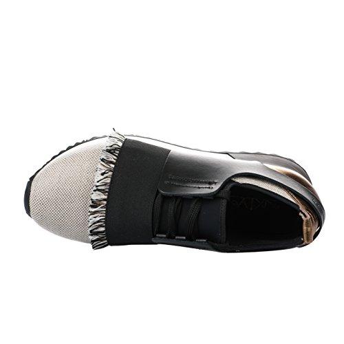Mode Femme Noir Sixtyseven Baskets Noir w50dqAw8x