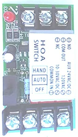 Veris VST101 : 10A SPDT Track Mount Relay: Electronic Relays: Amazon