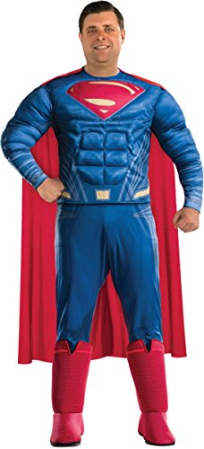 Rubie's Justice League Deluxe Adult Superman Costume, Plus