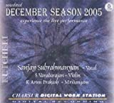 Kutcheri - Sanjay Subrahmanyan – Vocal (with S Varadarajan-Violin, K Arun Prakash-Mridangam) – Unedited Live Recording Of A Concert Held In Naada Inbam On 16 December 2005 – Experience The Live Performance (3-CD Pack)