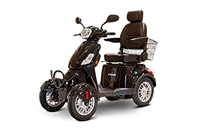 EWheels EW-46 Bariatric 4-Wheel Long Range Electric Mobility Scooters - 35 Mile Range