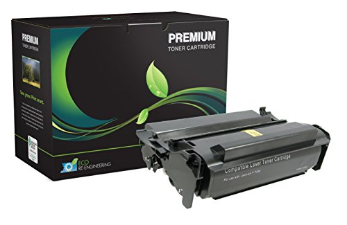 (MSE Model MSE02254316 High Yield Toner Cartridge; Works with Lexmark Compliant T430, T430D and T430DN; Black Color; Up 12,000 Pages Yield)
