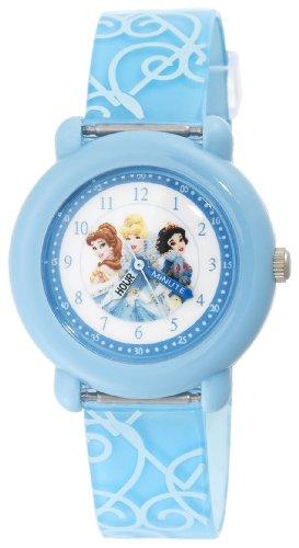 Disney Kids' PN1003 Princess Time Teacher Blue Strap Watch