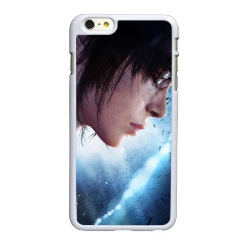 Y9R31 delà de deux âmes I2L6FJ coque iPhone 6 Plus de 5,5 pouces cas de couverture de téléphone portable coque de FS5OLF6RW blanc