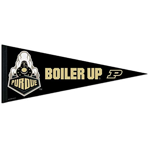 (WINAV NCAA Purdue Boilermakers Premium Pennant, 12 x 30-Inch, Multicolor)