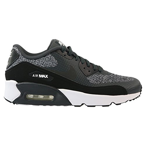 Nike Kids Air Max 90 Ultra 2.0 SE GS Anthracite/Black/White 917988-003 (Size: 7Y) by NIKE