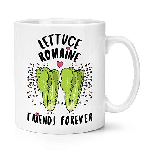 Timug Lettuce Romaine Friends Forever Coffee Mug Funny Mug Best Birthday Gifts Mug Cup, 11 Oz, ()