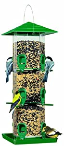 Perky-Pet 3221 Grandview Wild Bird Feeder with Tray Get Rabate