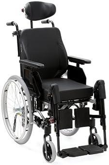 Aluminio Rehab netti 4U CE Plus Comfort, silla multifunción, el modelo básico Mejorado Cuidado silla/multifunción para silla de ruedas Serie SB 45