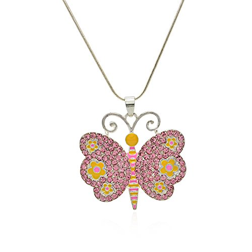 Childrens Butterfly Necklace - 2
