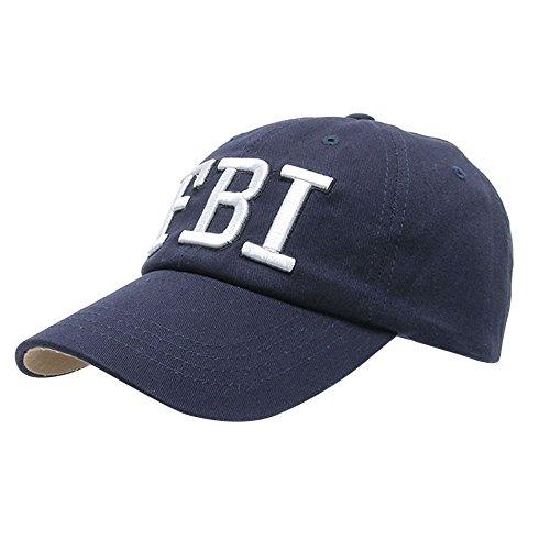Hat Athletic Print - Law Enforcement FBI Hat Baseball Cap Adiustable Hat