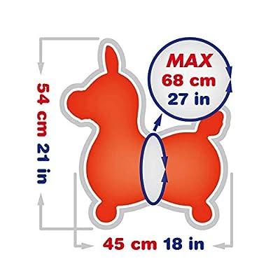 Gymnic Rody Horse Toy, Orange, One Size: Toys & Games