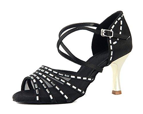 e Moderno Heel 7 5cm Jazz MGM Black Donna Joymod HqxCwTBn