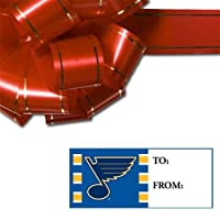 NHL St. Louis Blues Gift Tag Sheet, 8.5 x 11-inches