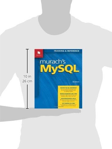 Murachs mysql joel murach 9781890774684 amazon books fandeluxe Gallery