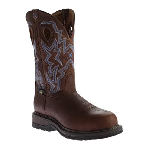 Twisted X Men&39s Pebble Lite Weight Cowboy Work Boot Composite Toe