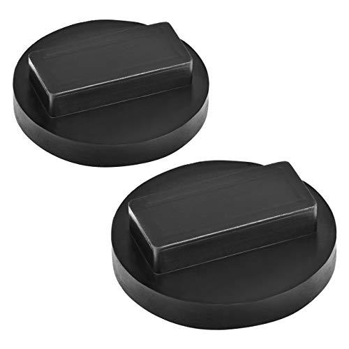 DEDC 2 Pack Jack Pad for BMW & Mini Jack Pad Square Polyurethane Jack Pad Adapter Frame Rail Protector