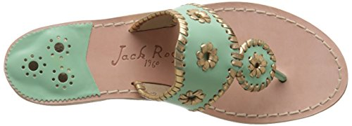Nantucket Women's Rogers Mint Sandal Gold Jack Gold Dress ZnxSE4v4qw