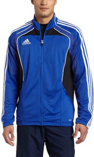 adidas Men's Condivo Full-Zip Training Jacket, Cobalt, Black, (Adidas Condivo Jacket)