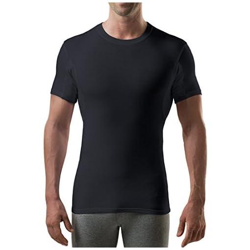 Vneck Original Fit Thompson Tee Hydro-Shield Sweat Proof Men/'s Undershirt