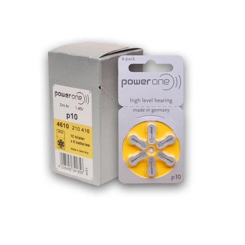 PowerOne Hearing Batteries 10 Keychain