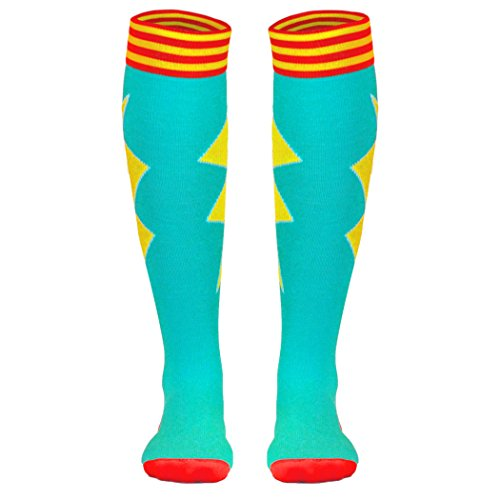 Compression Bolt - Running & Athletic Recovery Knee High 15-20mmHG Compression Socks | Let's Bolt | MD