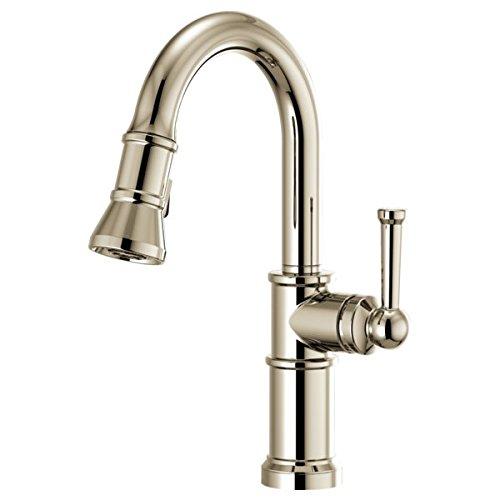 Brizo Artesso: Pull-Down Prep Faucet Polished - Faucet Prep Brizo