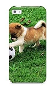 Cute High Quality Iphone 5c Pretty Dogs Case by icecream design