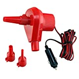 12v Inflator & Deflator with 3 Nozzles Included