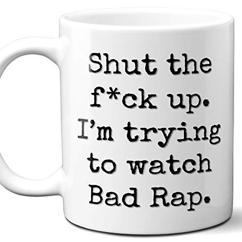 Bad Rap Movie Parody Gift Mug. 11 oz.