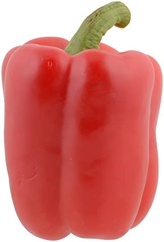 Pepper Bell Red Conventional Whole Trade Guarantee, 1 Each