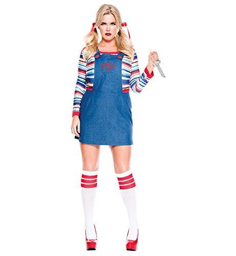 Nightmare Killer Doll Plus Size Adult Costume