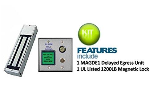DELAYED-EGRESS-LOCK-KIT-8011003-DESYSTEM Delayed Egress System with 1200lb. Holding Force Magnetic Lock