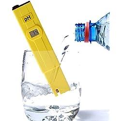 Digital Pen LCD Monitor pH Tester Laboratory Meter Aquarium Pool Water