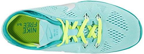 Nike Free TR 5 Breathe - Zapatillas para mujer Turquesa (artisan teal/white-lt rtr-vlt 300)