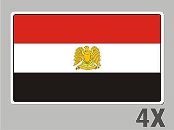 STICKER*** ***EGYPT EGYPTIAN FLAG DECAL