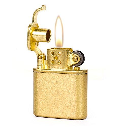 Pure Copper Antique Style Lift Arm Oil Petrol Metal Cigarette (Style Cigarette Lighter)